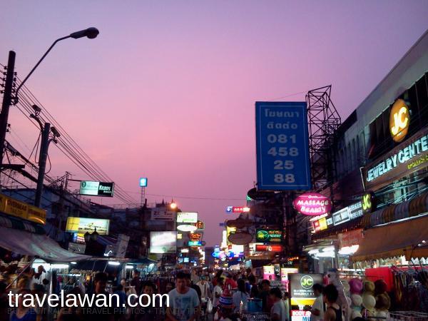 Transportasi Dan Cara Untuk Menuju ke Khao San Road, Bangkok.