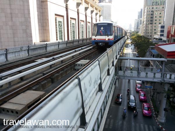 BTS/Skytrain, moda transportasi yang praktis dan nyaman di Bangkok